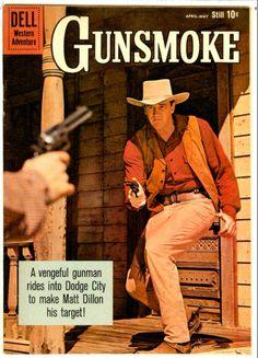 Old Comics, Vintage Comics, Comic Book Covers, Comic Books, Star Trek Images, Western Comics, Tv Westerns, Old Tv Shows, Best Western