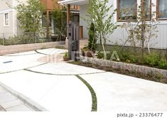 Garden Planning, Sidewalk, Construction, Exterior, Flooring, Park, House, Image, Building