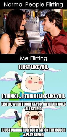 Finn the Human | me flirting | Adventure Time