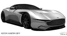 Aston Martin DB11 Envisioned As Neutered Vulcan