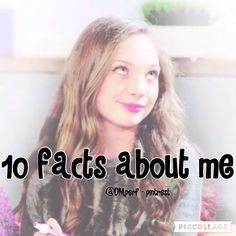 //pls no repins// 1. im 13 (almost 14) 2. my fav. color is purple  3. fav shows are pretty little liars, breaking bad, greys anatomy, the walking dead, and dance moms 4. i have an Instagram  5. i only follow kendall, chloe, kalani, nia, brooke and paige on instagram 6. my favorite foods are sushi and pizza (i like all foods)  7. im very flexible  8. my fav. subject is social studies 9. ive broken 3 bones 10. my fav. musicians are marina and the diamonds and ariana grande -from DMper