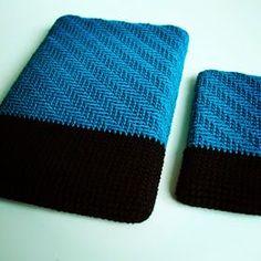 Hækle opskrift til covers til iPhone og iPad/tablets.