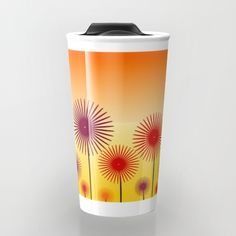 Take your #coffee to go with a colorful #travel mug that will add a little bit of color to your #sleepy #mornings