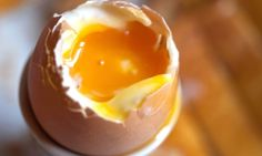 Yes, there is a trick to boiling an egg. And it's the opposite of what you might think.  I have to try this soon