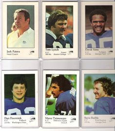 Seahawks 1980 I The Jack Patera years. Steve Raible became a Kiro news anchor in Seattle and is now the lead  play by play announcer for the Seattle Seahawks