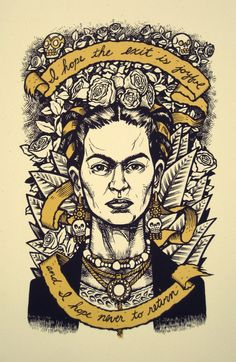 frida's dying wishes. a portrait by an old friend. $20.00