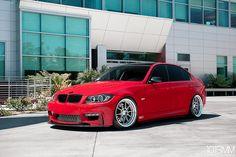 SSR Wheels BMW 335i, via Flickr.