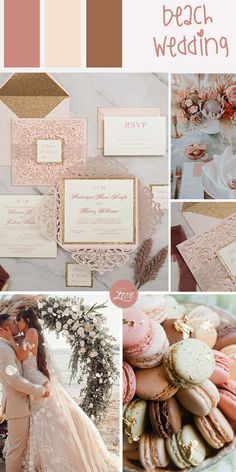This delicate blush laser cut exterior unleashes its frill upon you to reveal a stunning glittery gold backing card to highlight your message. Paired with a matching rsvp card and shimmering blush envelope. Really, this is the type of invitation suite that will make you say that you love elegance and sophistication. Wedding Gifts For Bridesmaids, Diy Wedding, Wedding Ideas, Wedding Details, Wedding Inspiration, Wedding Decorations, Brown Wedding Themes, Wedding Colors, Classic Wedding Invitations