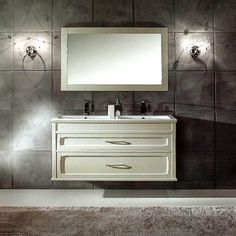 "White Double Washstand ""Ambra"" G9  3289eur"