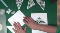 Card tricks are a staple part of every magician's repertoire. You can find a vast range of free card tricks in library books and sometimes on websites that are devoted to Card Making Tips, Card Tricks, Card Making Tutorials, Card Making Techniques, Making Ideas, Video Tutorials, Fancy Fold Cards, Folded Cards, Heartfelt Creations Cards