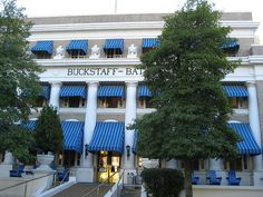 """Buckstaff Baths: (Hot Springs, AR) The architecture reflects a vanishing era, a time when health-seekers from far & wide traveled to Hot Springs seeking restored vigor, relief from pain & cures for diseases. The Buckstaff remains open for traditional mineral water bathing & contemporary spa services. The National Park Service preserves """"Bathhouse Row"""" as a significant national landmark. #Arkansas #Hot_Springs #national_park #Bathhouse #Spa #thermal #mineral_water #South #Southern"""
