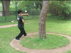 Bagua circle walking.