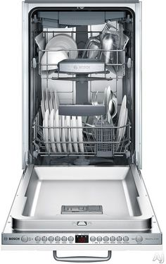 Bosch SPV68U53UC 18 Inch Fully Integrated Dishwasher with 10 Place Settings, 6 Wash Cycles, 3 Adjustable Racks, ActiveTab Tray and Floor Indicator Light: Custom Panel Ready