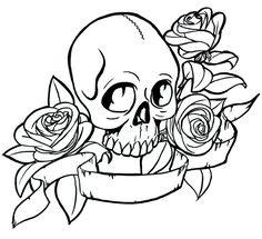 Day of the Dead dia de los muertos Sugar Skull Coloring pages colouring adult detailed advanced printable Kleuren voor volwassenen coloriage pour adulte anti-stress kleurplaat voor volwassenen Line Art Black and White Skull Coloring Pages, Halloween Coloring Pages, Colouring Pages, Coloring Pages For Kids, Adult Coloring, Coloring Books, Lightning Tattoo, Banner Drawing, Girls With Flowers