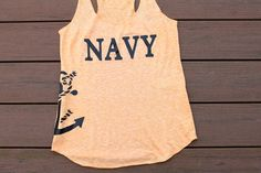 Navy shirt with anchor by AmyJaneBeauty on Etsy #USMC #military #militarylove #militarygirlfriend #usmcgirlfriend #usmcwife #usa #navy #milso #army #navygirlfriend #navywife #armygirlfriend #armywife #airforce #airforcewife #airforcegirlfriend