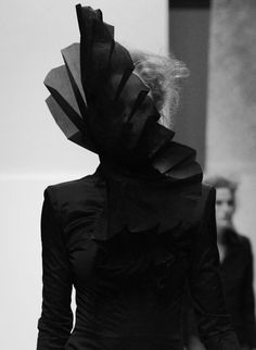 how is this fashion? you can't even see her face!