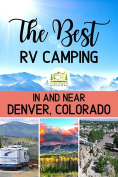 Denver Colorado is a major vacation destination, which also means expensive hotel costs. So explore all the National and State Parks, like Rocky Mountain National Park or Golden Gate Canyon State Park in the comfort … Camping Resort, Rv Camping, Camping World, Camping Ideas, Campsite, Colorado Hiking, Denver Colorado, Colorado Mountains, Cold Springs Campground