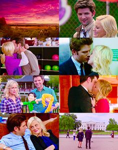 Parks and Rec Parcs And Rec, Leslie And Ben, Leslie Knope, Amy Poehler, Playgrounds, Parks And Recreation, Classic Tv, Best Tv Shows, Best Couple