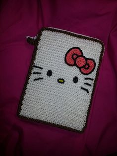 Case iPad mini Hello Kitty Crochet