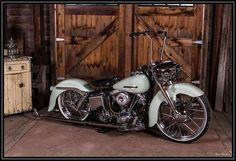 In the farm good bike..