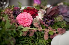 botanical wedding ideas - photo by Ryan Welch Photography http://ruffledblog.com/welsh-floral-wedding-inspiration