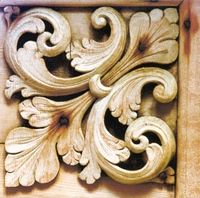 norwegian acanthus wood carving - Google Search