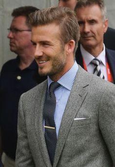 David Beckham hairstyles |