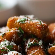 Stuffed Rigatoni Poppers Recipe by Tasty