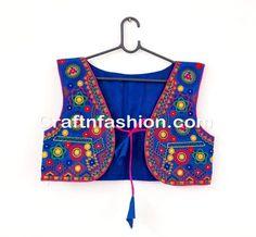 Hand Embroidered Navratri Jacket Koti/Shrug