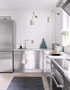 get this look: industrial modern kitchen.