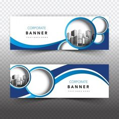 Blue and white business banner Free Vector ~ vectorkh Header Banner, Background Banner, Web Banner, Banners, Banner Vector, Banner Template, Web Design, Flyer Design, Certificate Design Template