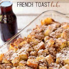 Overnight French Toast Bake   RecipeLion.com