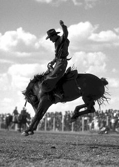 bronc rider....early 1940's ???
