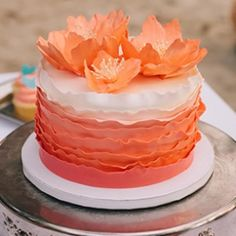 A coral colored and ombre destination wedding on the beaches of St. John.