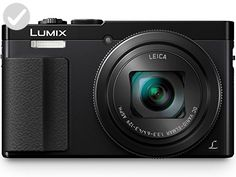 PANASONIC LUMIX ZS50 Camera, 30X LEICA DC Vario-ELMAR Lens, 12.1 Megapixels, High Sensitivity Sensor, Eye Viewfinder, DMC-ZS50K (USA BLACK) - Dont forget to travel (*Amazon Partner-Link)