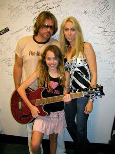 Miley Cyrus 10 years ago