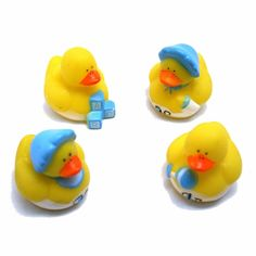 """Its a Boy, these baby boy rubber ducks are a great way to add some fun flare to your baby shower.  Simply put these ducks in a centerpiece or just scatter them like confetti.  Never held a Duck Race Fundraiser before?  Don't worry it's an easy and great fundraiser for any event. Start by purchasing your duck race ducks and then number each ducky.  """"Sell"""" each duck to the duck race fundraiser participants.  You don't actually give the ducks to the participants, but keep track of whoever…"""