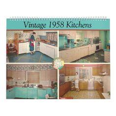 Retro Kitchen Decor, Vintage Kitchen, Retro Kitchens, Kitchen Ideas, Aqua Kitchen, 1950s Kitchen, Vintage Rv, Kitchen Tables, Kitchen Redo