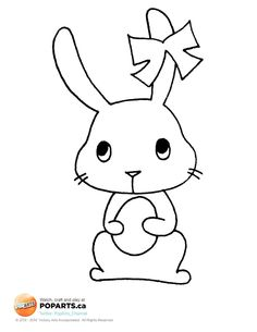6 more days until #Easter! So buy some #chocolate and get your #crafts ready. And remember, some #bunny loves you!