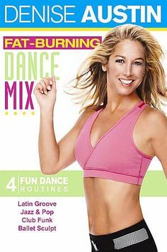 Denise Austin presents four dance workout routines to promote weight-loss and increased energy.