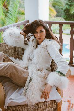 Ibiza, Hippy, Fur Coat, Hearts, Jackets, Collection, Fashion, Women's Coats, Modern Women