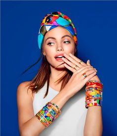 FREYWILLE the colorful turbans