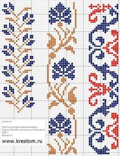Простые крестики(схемы) / Вышивка / Вышивка крестом