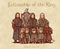The fellowship #lotr #tolkien #fellowshipofthering