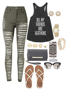 """""""They really are heathens😂😂"""" by paytton-white on Polyvore featuring Billabong, Charlotte Russe, New Look, Christian Dior, LULUS, DKNY, sweet deluxe, Angel Sanchez and Kate Spade"""