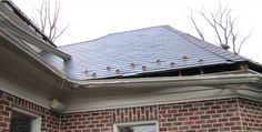 4 Ways That Clogged Gutters Can Cause Damage To A Home #RealEstate #HomeInspection #HomeMaintenance