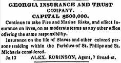 Olive Tree Genealogy Blog: Ledger Books Records of Life Insurance on Slaves
