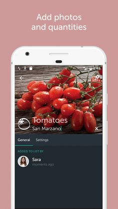 You can app photos and quantities to your groceries to personalize your shopping list. Shopping List Grocery, Shopping Hacks, Ios, Android, Food Hacks, Bring It On, In This Moment, Make It Yourself, Clever