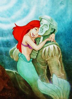 """Why Eric, run away with you? I don't know, this is all so sudden."" Ariel, The Little Mermaid <3"