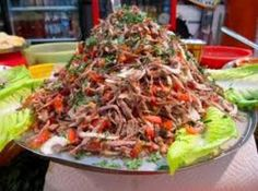 Salpicon de Res Recipe/ Shredded Beef Salad